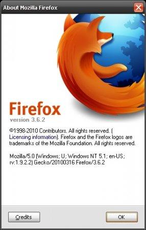 Критическое обновление для Firefox 3.6