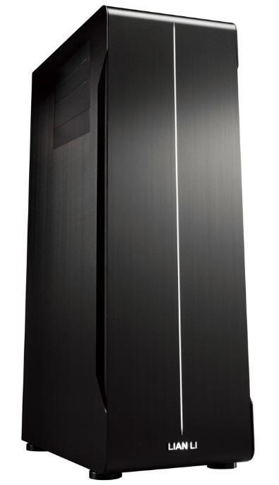 Компьютерный корпус в черном стиле