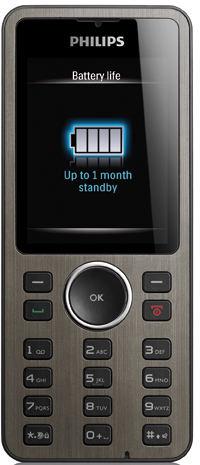 Philips Xenium X312 – телефон долгожитель