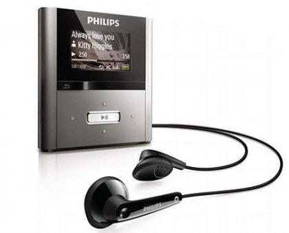 Представлено новое поколение Philips GoGear RaGa