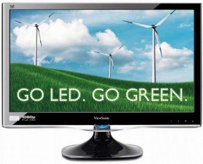 ViewSonic VX2250wm-LED – экологичный монитор