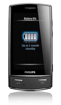 Philips Xenium X806 - тачфон с двумя SIM картами