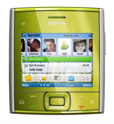 Cлайдер Nokia X5-01