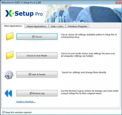 Программа X-Setup Pro для настройки windows