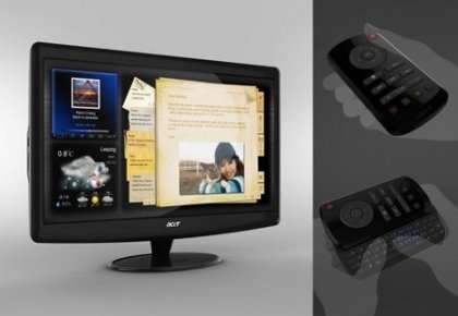 Монитор Acer D241H - выход в Интернет без ПК