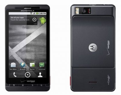Релиз коммуникатора Motorola Droid X