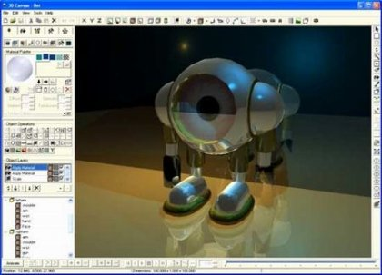 3D Canvas трехмерный редактор