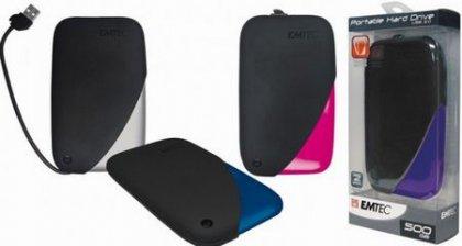 Мобильные винчестеры P200 от Emtec