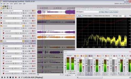 Программа REAPER – аудио редактор
