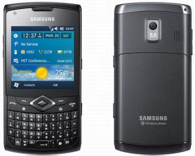 Коммуникатор Samsung Omnia 735
