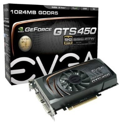 Видеокарта GeForce GTS 450