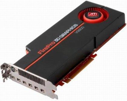 AMD представила видеокарту FirePro V9800