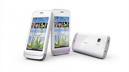 Смартфон Nokia C5 на базе Symbian