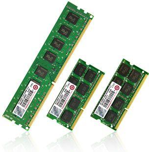 Модули памяти объёмом 4 Гб от Transcend