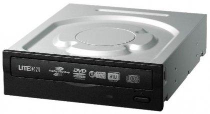 DVD-привод iHAS624 пишет DVD диски на 24x