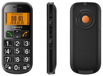 Телефон TeXet TM-B200 для старшего покаления