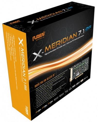 Звуковая карта Auzentech X-Meridian 7.1
