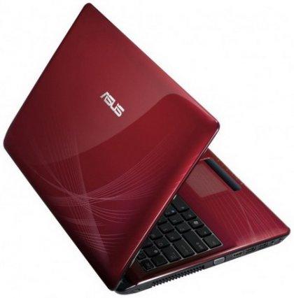 Ярко-красный ноутбук Asus K52JU-SX010V