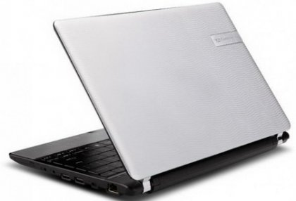 Компактный ноутбук Gateway EC19C-A52C/S