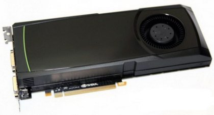 Nvidia выпустила GeForce GTX 570