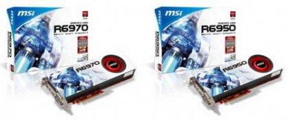 Новые версии видеокарт Radeon HD 6970 и HD 6950