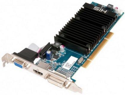Видеокарта Radeon HD 5450 с интерфейсом PCI