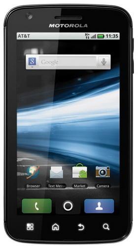 Мощный смартфон Motorola ATRIX 4G