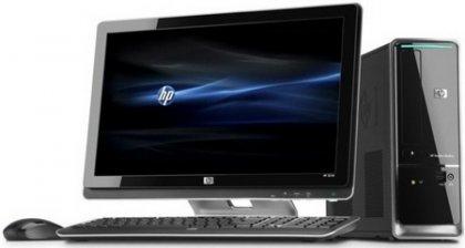 Трио настольных компьютера HP