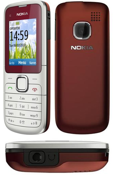 Nokia C1-01 – надежный бюджетный телефон