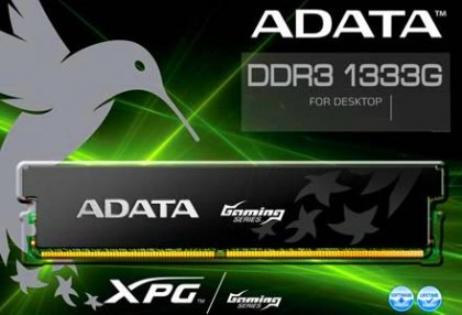 Память A-Data XPG Gaming Series DDR3L-1333G