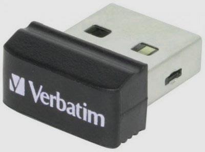 Мини-флешка Verbatim Store 'N' Stay