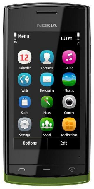 Nokia 500 – смартфон для молодежи