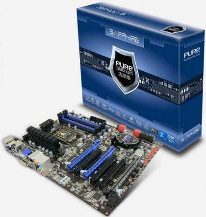 Sapphire Pure Platinum Z68 – материнка на базе Intel Z68