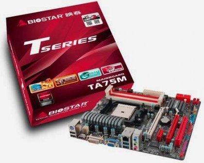 Материнская плата Biostar TA75M для AMD FM1