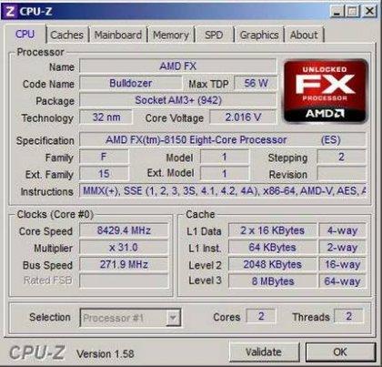 Процессор AMD FX попал в книгу Гиннеса