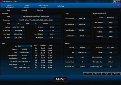 AMD OverDrive – разгон плат с AMD чипсетами