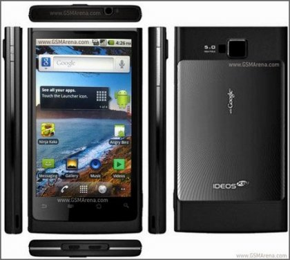 Стильный Android смартфон от Huawei