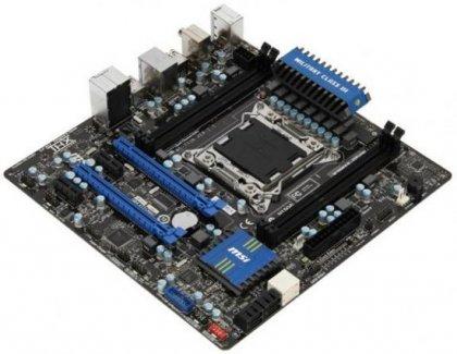 Компактная Micro-ATX плата MSI X79MA-GD45 под Sandy Bridge E