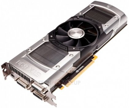 GeForce GTX 690 с двумя GPU