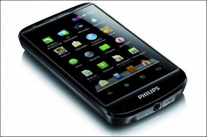 Новый Android смартфон Philips W626