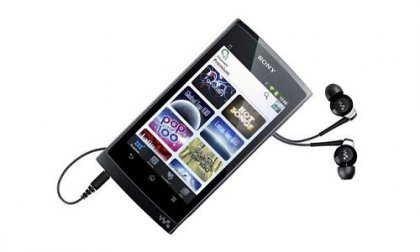 Первый Walkman смартфон на базе Android