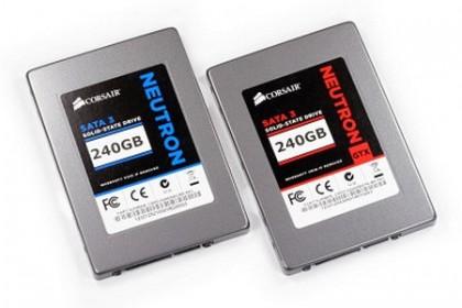 Corsair начала продажи SSD накопителя Neutron