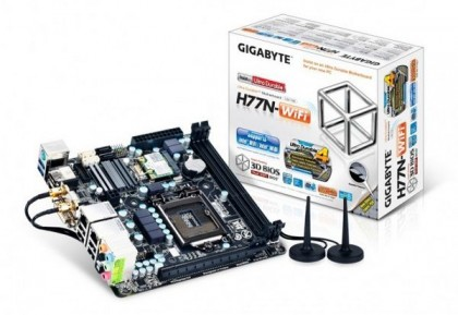 Gigabyte выпустит mini-ITX плату с WI-FI