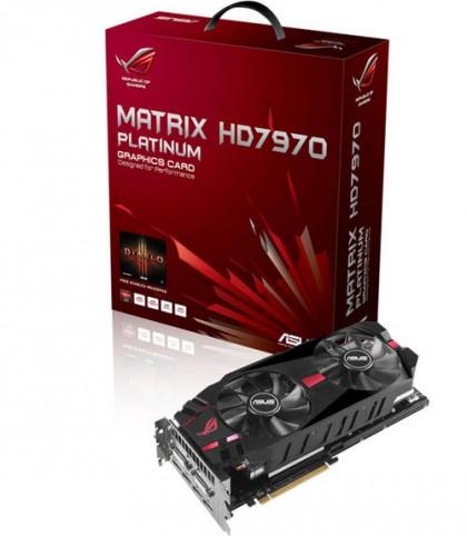 ASUS Matrix HD 7970 / Platinum – большие возможности для разгона