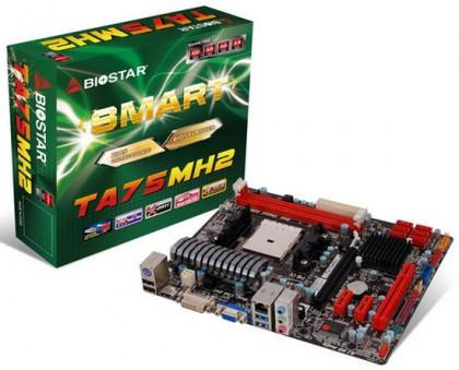 Biostar TA75MH2 – бюджетная материнская плата под APU AMD Trinity