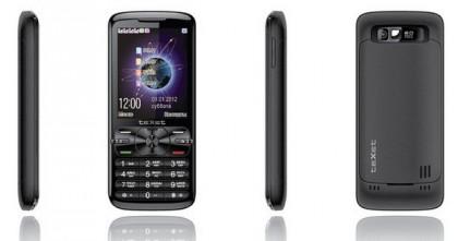 TeXet представила телефон с поддержкой четырех SIM-карт