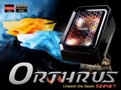 Экстравагантный CPU-кулер Xigmatek Orthrus