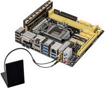 Asus Z87I-Deluxe ‒ Mini-ITX плата с Wi-Fi и Bluetooth