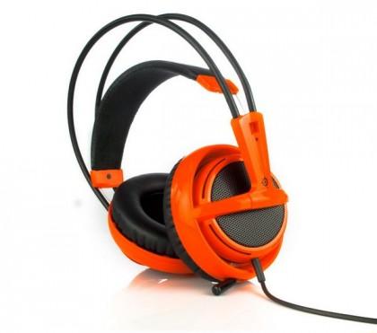Оранжевая гарнитура Siberia v2 для профессиональных геймеров