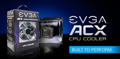 Мощный процессорный кулер ACX от EVGA